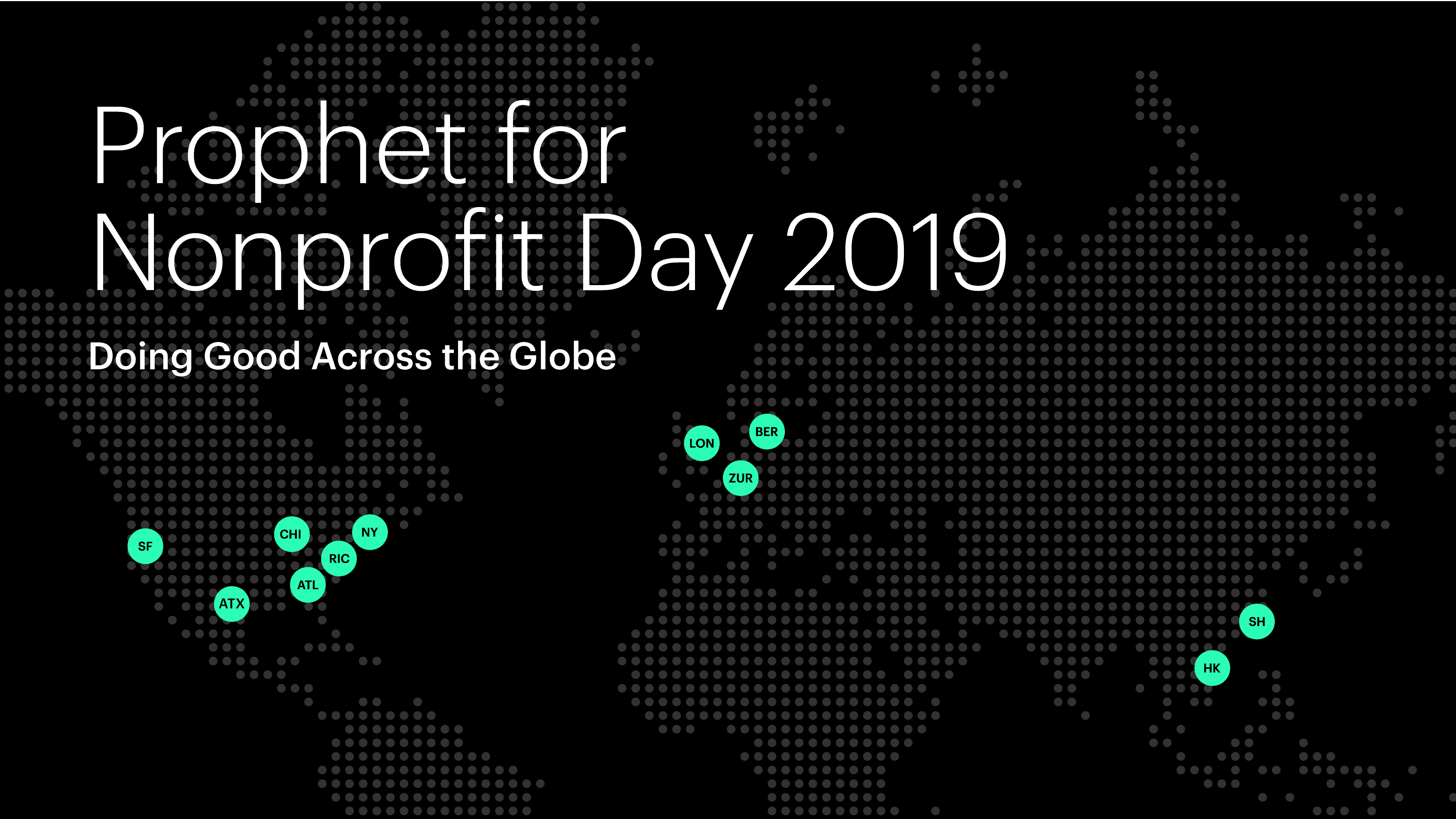 Prophet for Nonprofit Day 2019