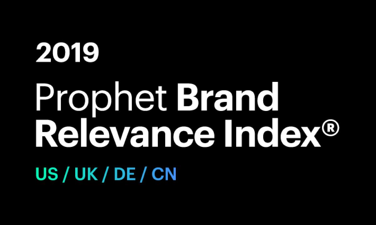 2019 Prophet Brand Relevance Index