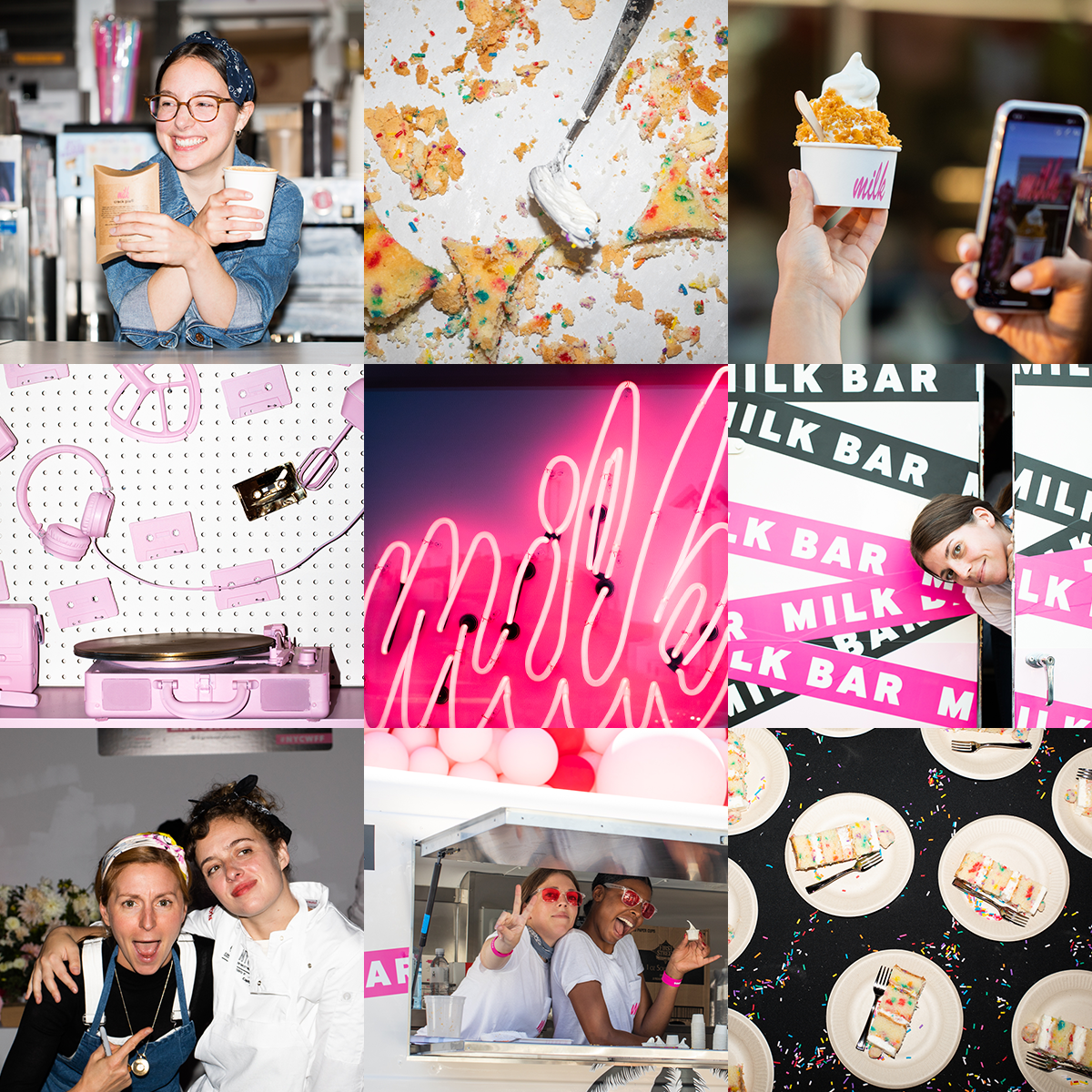 | Find Us @milkbarstore