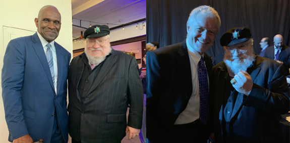 GRRM New Jersey hall of fame