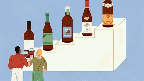 Do Wine Drinkers Really Trade Up?