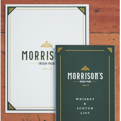 Morrison's Irish Pub Print Marketing