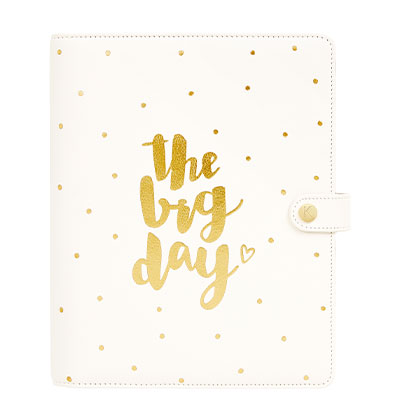 Leather Wedding Personal Planner Large. Shop now.